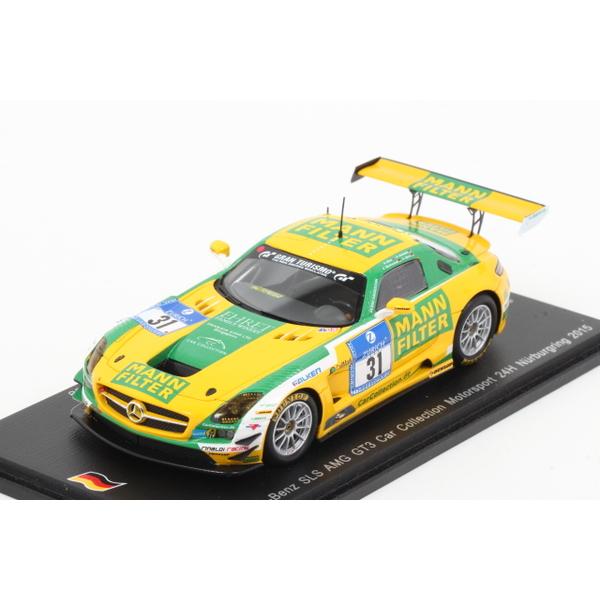 【spark】 1/43 メルセデスベンツ SLS AMG GT3 2015 Nurburgring24h No.31 限定500台
