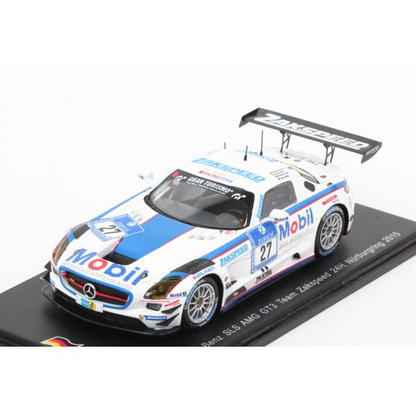 【spark】 1/43 メルセデスベンツ SLS AMG GT3 2015 Nurburgring24h No.27 限定500台