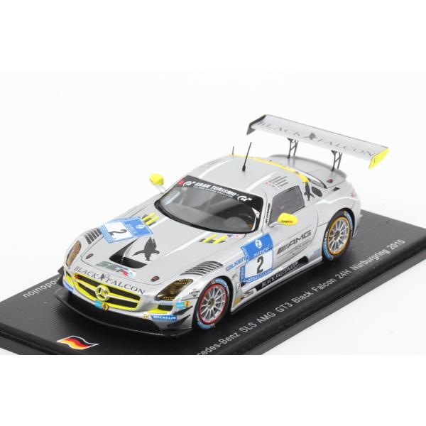 【spark】 1/43 メルセデスベンツ SLS AMG GT3 2015 Nurburgring24h No.2 限定300台