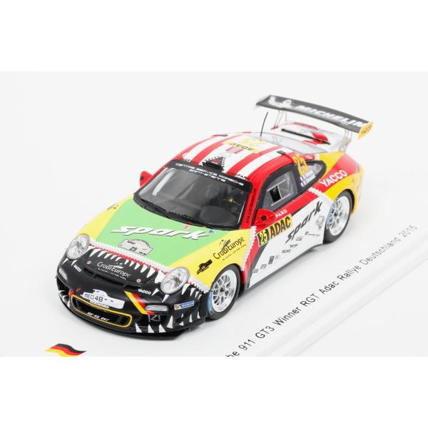 【spark】 1/43 Porsche 911 GT3 Winner RGT Adac Rally Deutschland 2015 No.25 *限定750