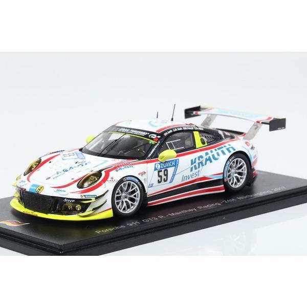 【スパーク】 1/43 Porsche 911 GT3 R No.59 Manthey Racing Nurburgring 24H 2017