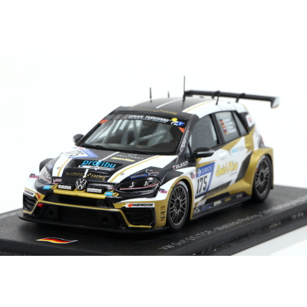 【Spark】 1/43 VW Golf GTI TCR No.175 Mathilda Racing Nurburgring 24H 2017