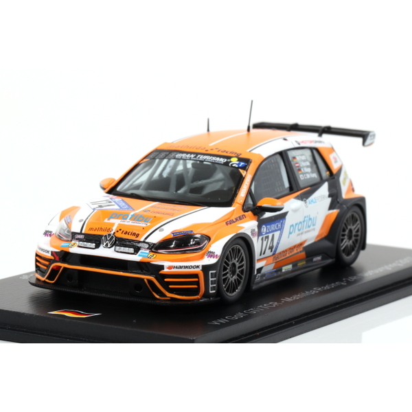 【Spark】 1/43 VW Golf GTI TCR No.174 Mathilda Racing Nurburgring 24H 2017