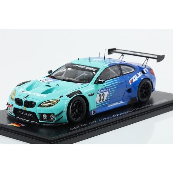 【スパーク】 1/43 BMW M6 GT3 Falken Motorsports - 24H Nurburgring 2018 #33