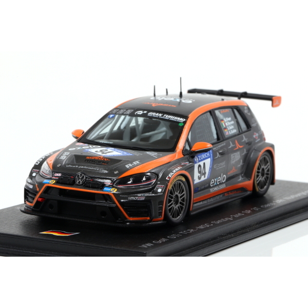 【Spark】 1/43 VW Golf 7 TCR No.94 MSC Sinzig - 2nd SP 3T class 24H Nurburgring 2018