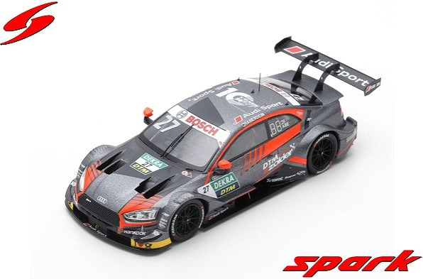 Spark 1/43 Audi RS5 No.27 DTM 2019 WRT Team Audi Sport