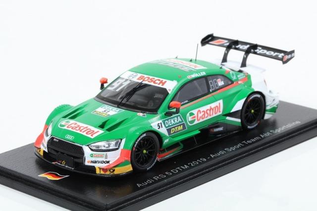 Spark 1/43 Audi RS 5 No.51 DTM 2019 Audi Sport Team Abt Sportsline