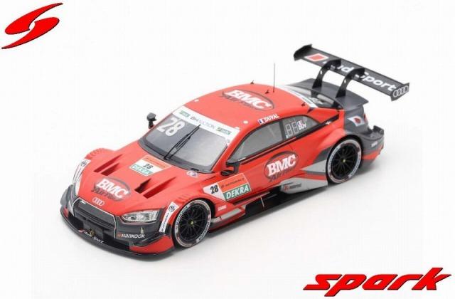 Spark 1/43 Audi RS 5 DTM 2019 No.28 Pole Position Super GT x DTM DreamRace Fuji 2019  Lo?c Duval