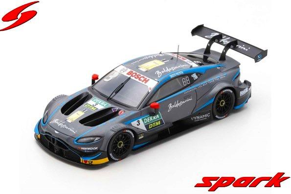 Spark 1/43 Aston Martin Vantage DTM 2019 No.3 R-Motorsport Paul di Resta Limited 500