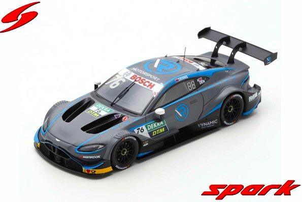 Spark 1/43 Aston Martin Vantage DTM 2019 No.76 R-Motorsport Jake Dennis Limited 500