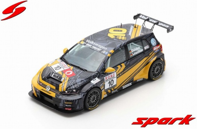 Spark 1/43 VW Golf GTI TCR No.10 Max Kruse Racing Winner TCR Class VLN4 2019 B. Leuchter - A. G?lden