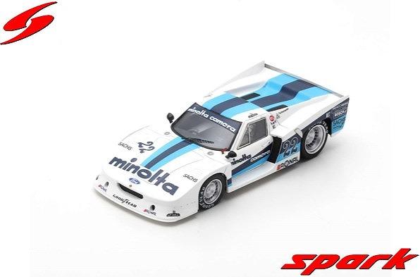Spark 1/43 Lotus Europa Turbo No.22 Gr.5 1000km Nurburgring 1979