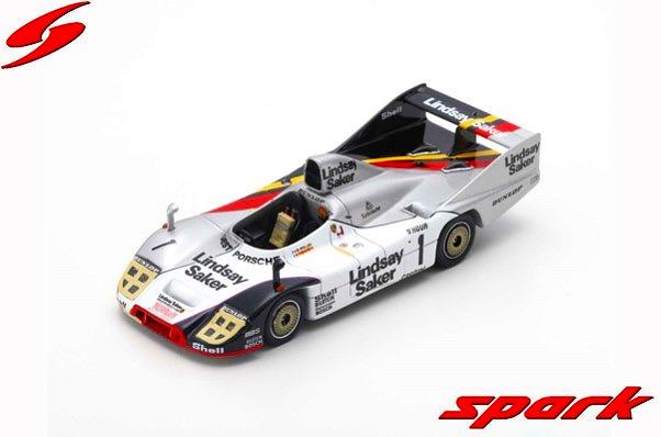 <予約> [Spark] 1/43 Porsche 936/80 No.1 3rd 9H Kyalami 1982 B. Wollek - G. Francia