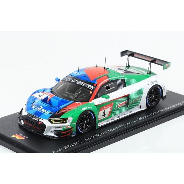 【Spark】1/43 Audi R8 LMS No.4 Audi Sport Team Phoenix Winner 24H Nurburgring 2019