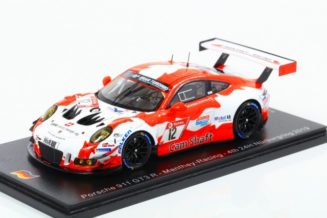 [Spark] 1/43 Porsche 911 GT3 R No.12 Manthey-Racing 4th 24H Nurburgring 2019 Limited 500
