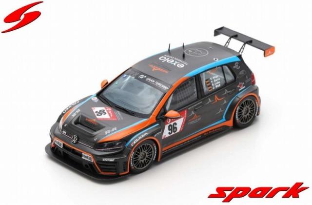Spark 1/43 VW Golf VII GTI No.96 MSC Sinzig e.V. im ADAC 3rd SP 3T class 24H Nurburgring 2019 Limited 300