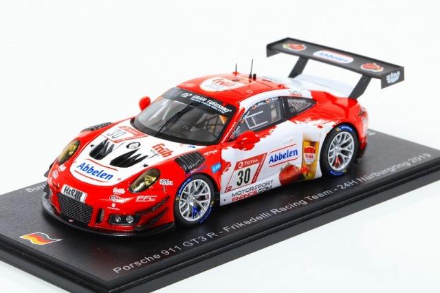 [Spark] 1/43 Porsche 911 GT3 R No.30 Frikadelli Racing Team 24H Nurburgring 2019 Limited 300