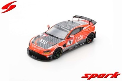 Spark 1/43 Aston Martin Vantage AMR GT4 No.76 Prosport-Performance 24H Nurburgring 2019 Limited 300