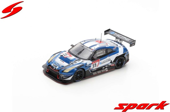 Spark 1/43 Nissan GT-R Nismo GT3 No.39 KCMG 24H Nurburgring 2019 Limited 500