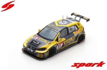 Spark 1/43 VW Golf VII GTI No.89 Giti Tire Motorsport by WS Racing 24H Nurburgring 2019 Limited 300