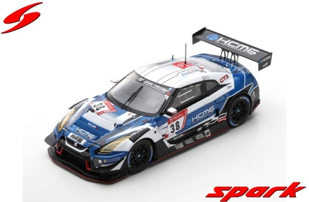 Spark 1/43 Nissan GT-R Nismo GT3 No.38 KCMG 24H Nurburgring 2019 Limited 500