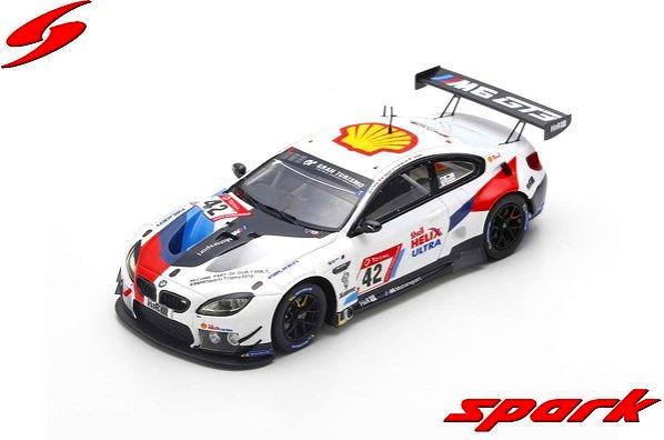 Spark 1/43 BMW M6 GT3 No.42 BMW Team Schnitzer 24H Nurburgring 2019 Limited 300