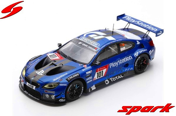 Spark 1/43 BMW M6 GT3 No.101 Walkenhorst Motorsport24H Nurburgring 2019 Limited 300