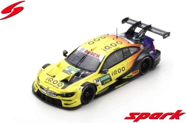 Spark 1/43 iQOO BMW M4 DTM No.16 BMW TEAM RMG Hockenheim 2020 Timo Glock Limited 500