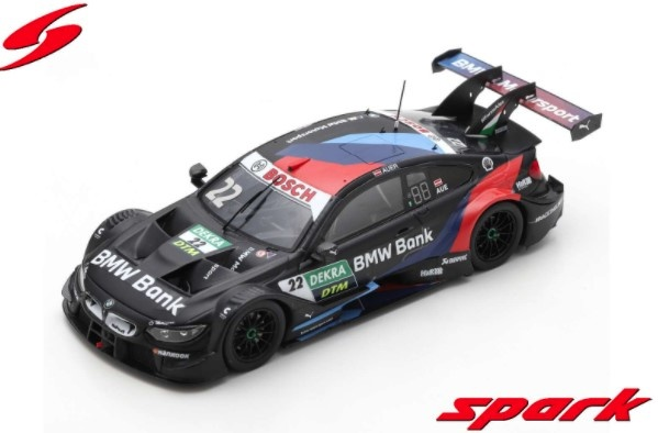 Spark 1/43 BMW Bank M4 DTM No.22 BMW TEAM RMR Hockenheim 2020 Lucas Auer Limited 500