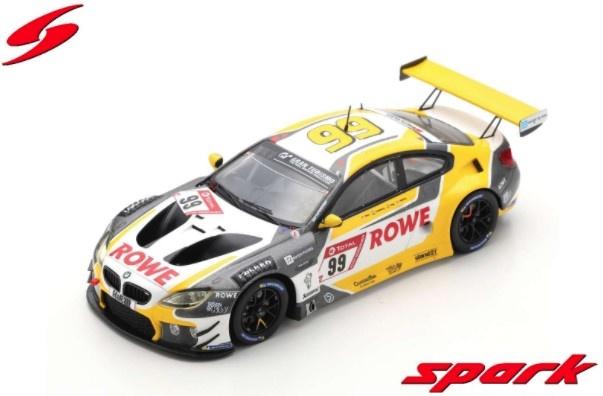 Spark 1/43 BMW M6 GT3 No.99 ROWE RACING Winner 24H Nurburgring 2020 A. Sims - N. Catsburg - N. Yelloly
