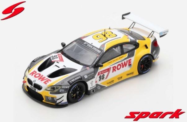 Spark 1/43 BMW M6 GT3 No.98 ROWE RACING 4th 24H Nurburgring 2020 M. Wittmann - T. Blomqvist - P. Eng