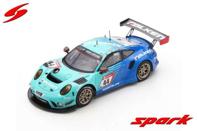 spark 1/43 Porsche 911 GT3 R No.44 Falken Motorsports 10th Nurburgring 2020 K. Bachler - S. Muller - P. Dumbreck - M. Ragginger