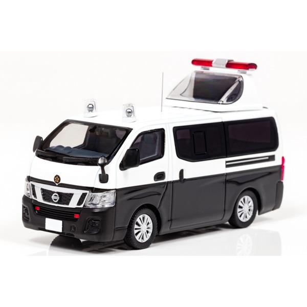 【RAI'S】 1/43 日産 NV350 キャラバン 2012 警察誘導標識車両 ※オフィシャルショップ限定モデル