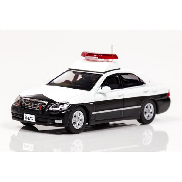 【RAI'S】 1/64 トヨタ クラウン 180系 警察パトロール車両 (警ら仕様) *Official shop限定モデル