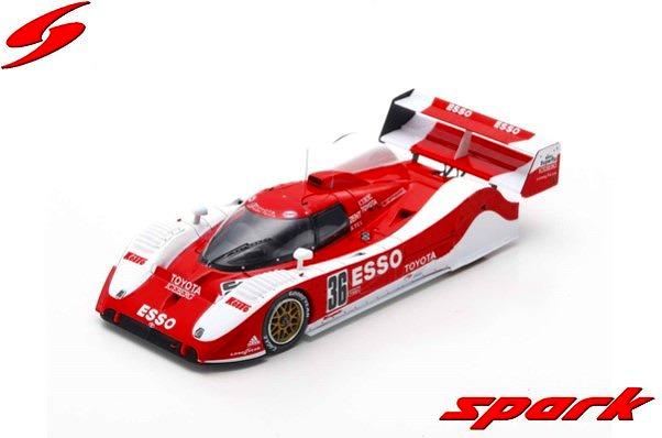 Spark 1/43 Toyota TS010 Winner Mine 1992 G. Lees - J. Lammers