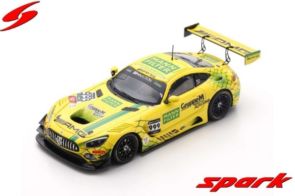 Spark 1/43 Mercedes-AMG GT3 No.999 Mercedes-AMG Team GruppeM Racing 2nd Suzuka 10H 2019 Limited 500