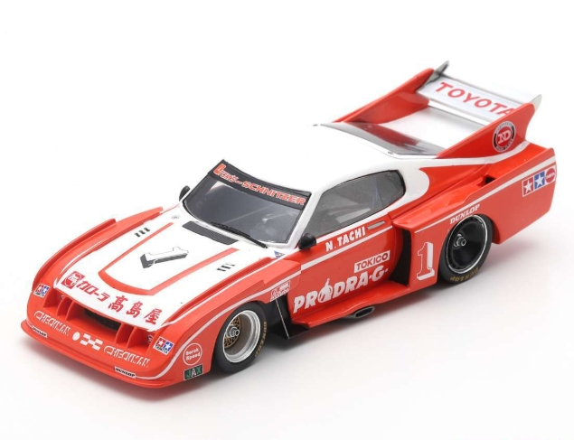 spark 1/43 TOYOTA Celica LB Turbo No.1 Winner Inter 200 Mile Fuji 1979 Nobuhide Tachi
