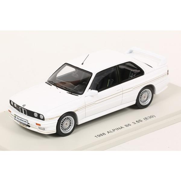 【スパーク】 1/43 アルピナ B6 3.5S (E30) 1988 ホワイト ※KIDBOX特注