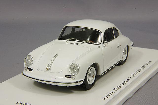 spark 1/43 ポルシェ 356B カレラA2 (2000GS) 1961 ホワイト *KIDBOX特注