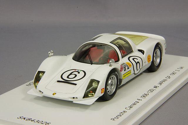 spark 1/43 ポルシェ カレラ 6 906-120 1967 日本グランプリ #6 滝進太郎 *KIDBOX特注