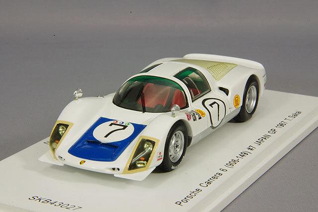 spark 1/43 ポルシェ カレラ 6 906-120 1967 日本グランプリ ウィナー #8 生沢徹 *KIDBOX特注