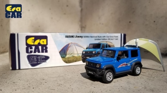 Era 1/64 SUZUKI Jimny SIERRA Revival Style with Outdoor Parts Limited Edition