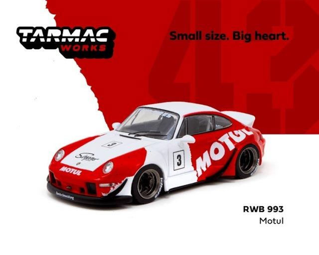 TARMAC 1/43 RWB 993 Motul