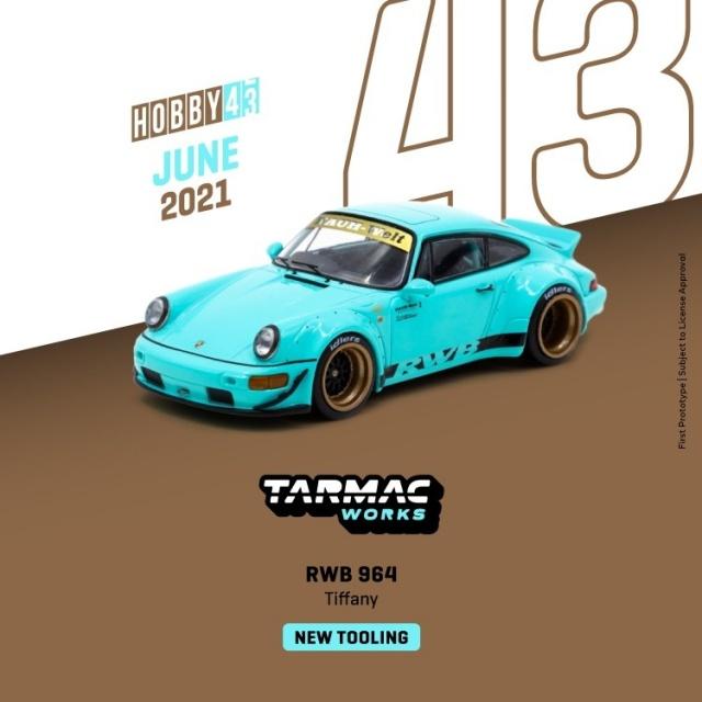 TARMAC 1/43 RWB 964 Tiffany