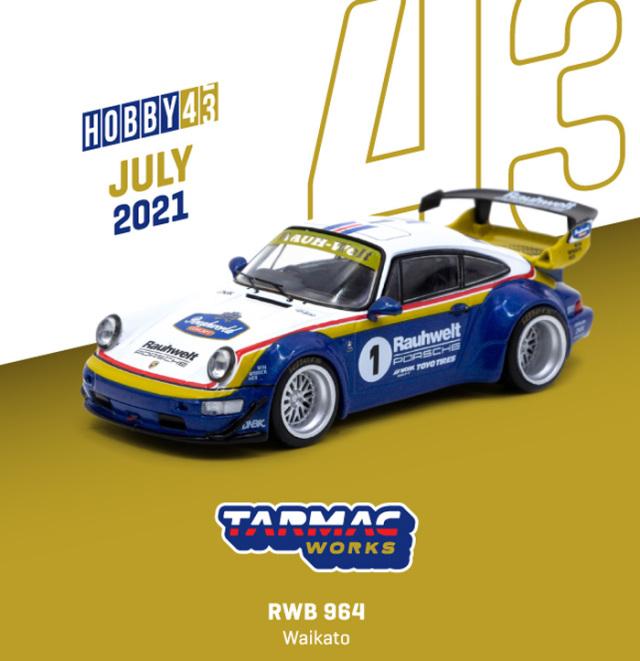 <予約 2021/9月発売予定> TARMAC 1/43 RWB 964 Waikato