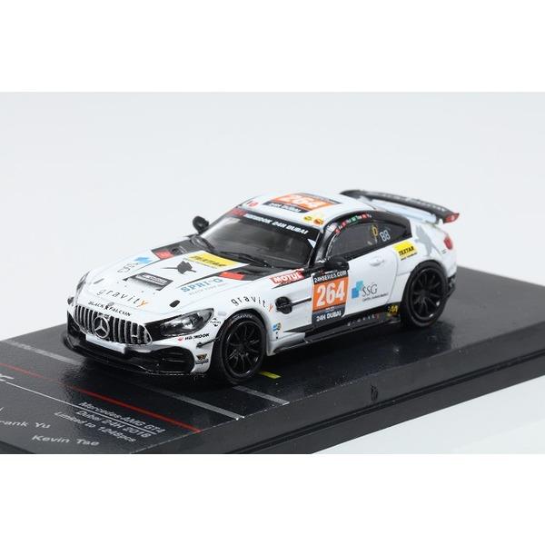 【TARMAC】 1/64 Mercedes-AMG GT 4 Dubai 24h 2018 No,264