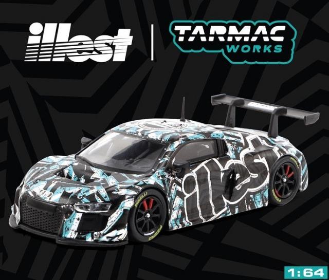 TARMAC 1/64 Audi R8 LMS illest