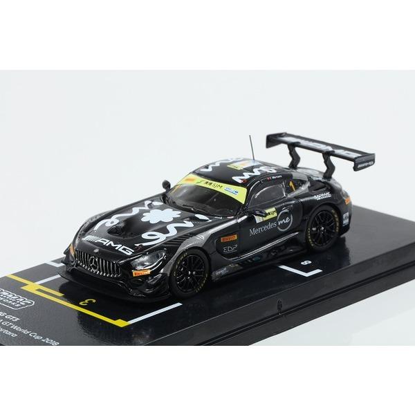【TARMAC】1/64 Mercedes-AMG GT3 Macau GT Cup FIA GT World Cup 2018  3rd Edoardo Mortara