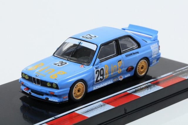 TARMAC 1/64 BMW M3 JTCC 1992 #29 Division 2 Champion