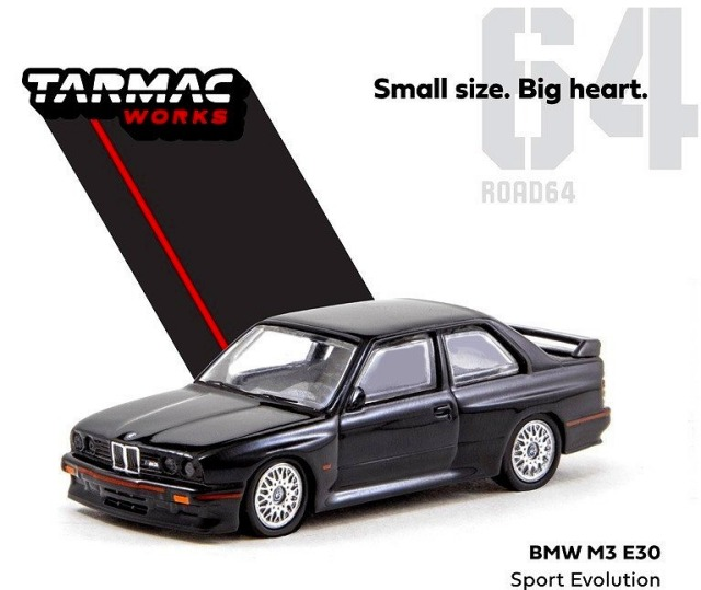 TARMAC 1/64 BMW M3 E30 Sport Evolution